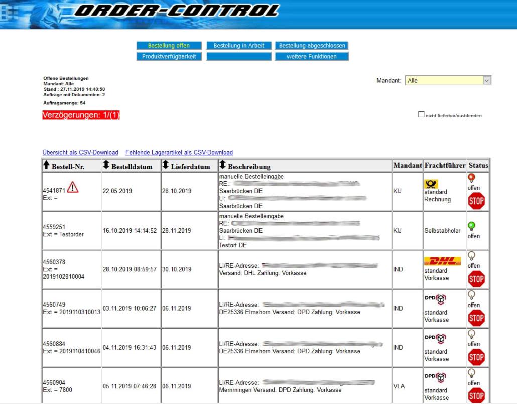 OrderControl
